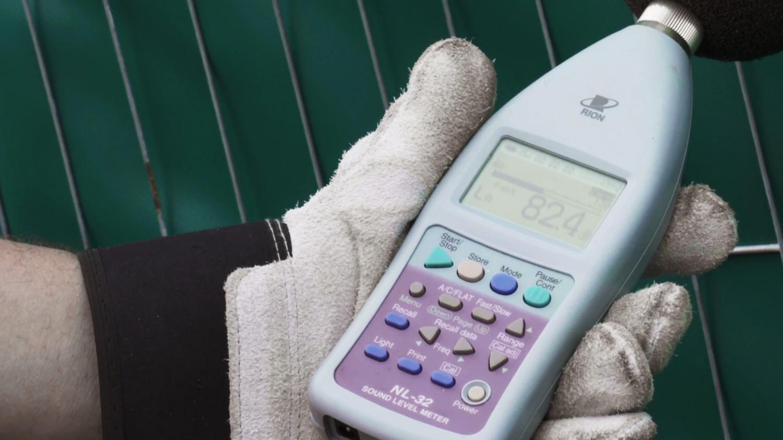 Fonometro con ponderazione di frequenza